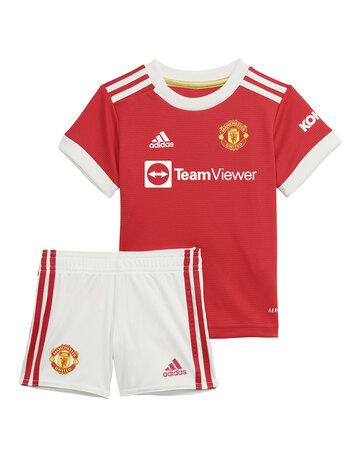 Infants Manchester United 21/22 Home Kit