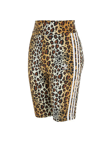 Womens Leopard Shorts
