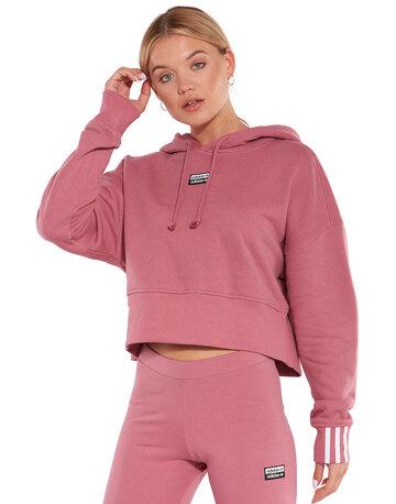 Womens Cropped Hoodie