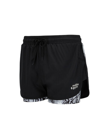 Womens 2-in-1 Shorts