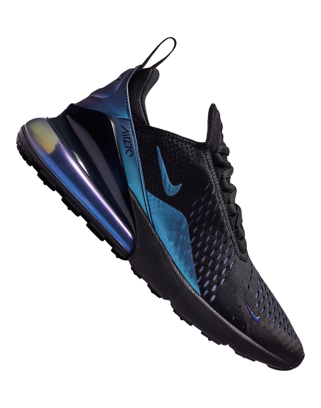 Black \u0026 Blue Metallic Nike Air Max 270