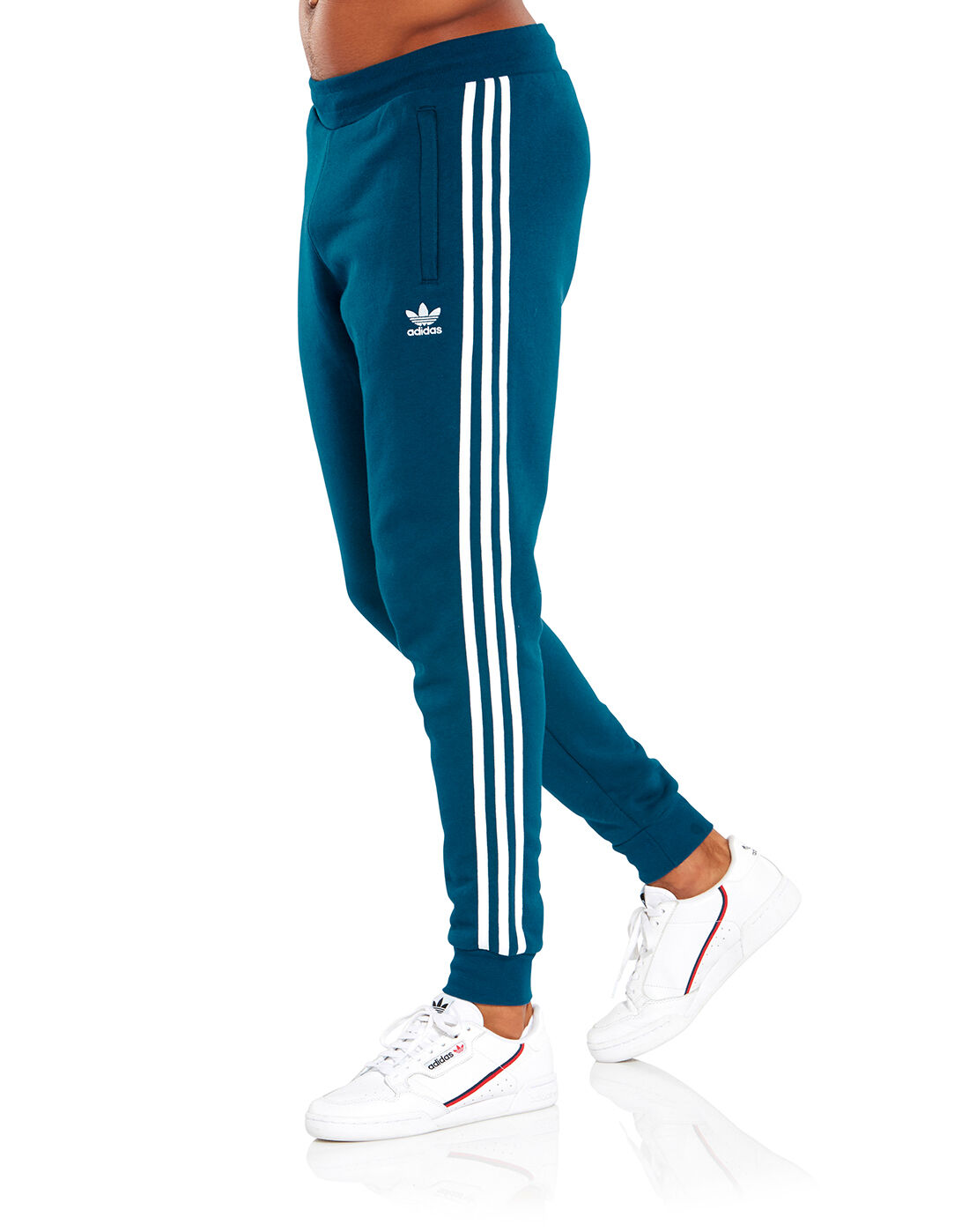 adidas 3 stripes pants uomo