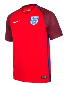 Adult England Away 2016 Jersey
