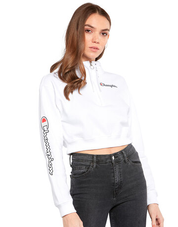 Womens Cropped Halfzip