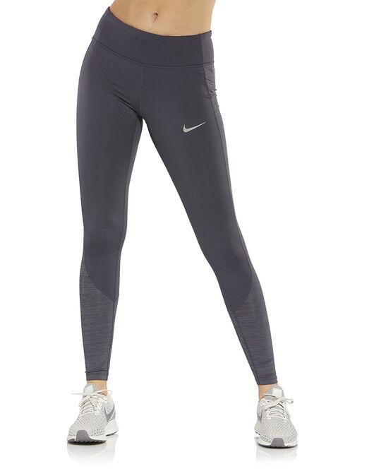 Women s Grey Nike Running Tights  b1600876a