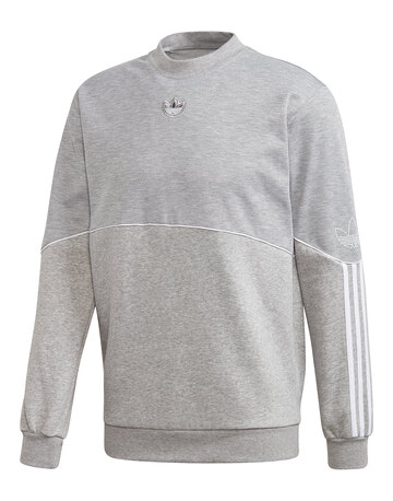 Mens Outline Sweatshirt Crew
