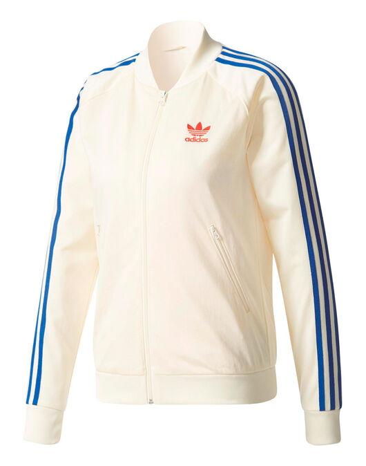 Womens Embroidered Superstar Track Top