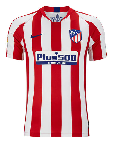 Adult Atletico Madrid 19/20 Home Jersey