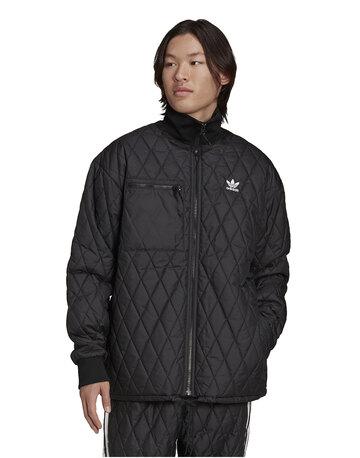 Mens Trefoil Quilted Jacket
