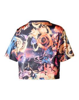 Older Girls Originals Rose Crop T-Shirt
