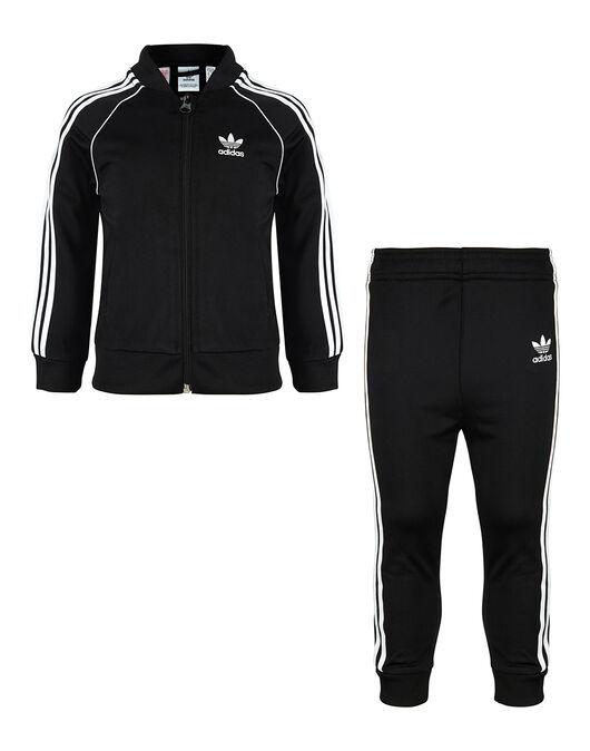 Tía Guarda la ropa Puede soportar  Infants Black adidas Originals Superstar Tracksuit   Life Style Sports