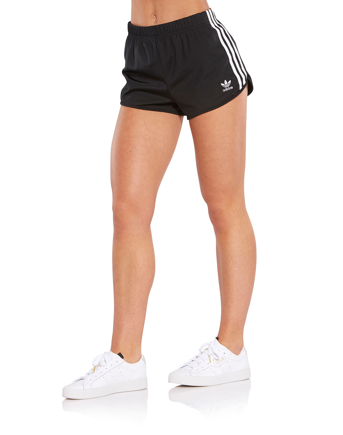 Adidas Originals Black Vintage Argentina Shorts for men