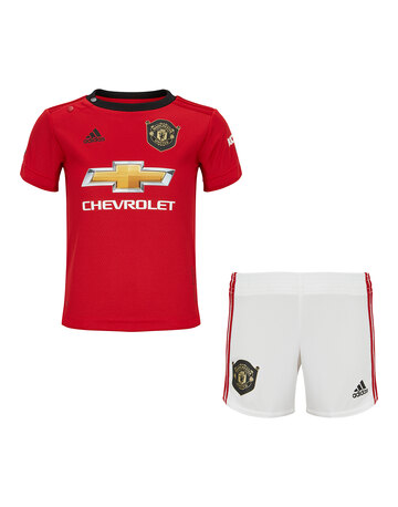 84b0cc993a3 Infants Man Utd 19 20 Home Kit ...
