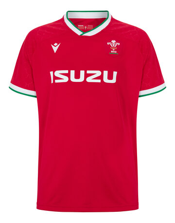 Adult Wales 20/21 Home Jersey