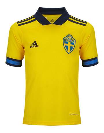 Kids Sweden Euro 2020 Home Jersey