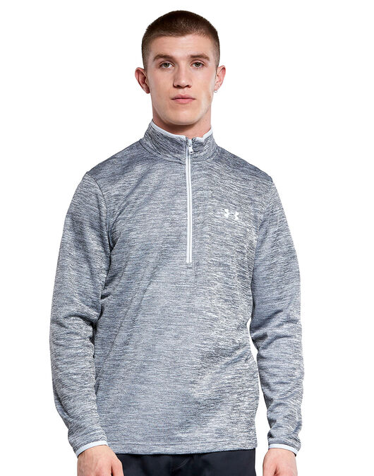 Mens Armour Fleece Half Zip
