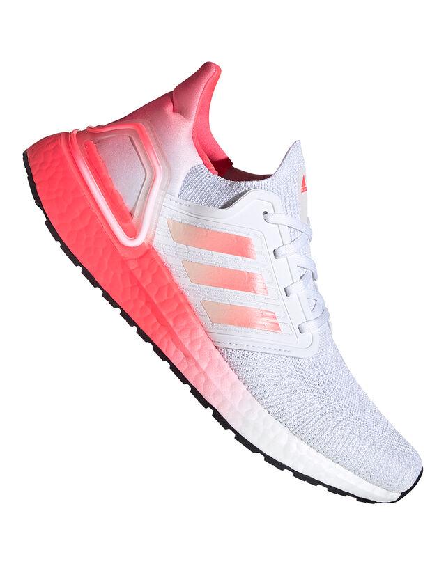 Adidas Womens Ultraboost 20 - White - 4