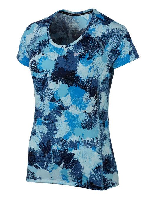 Womens Miller Crew Print T-Shirt