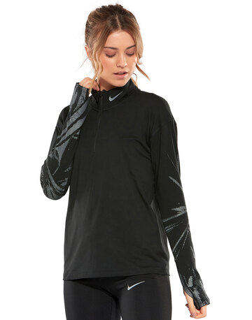 Womens Element Flash Half Zip Top
