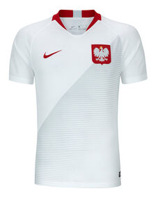 Adult Poland Home 18/19 Jersey