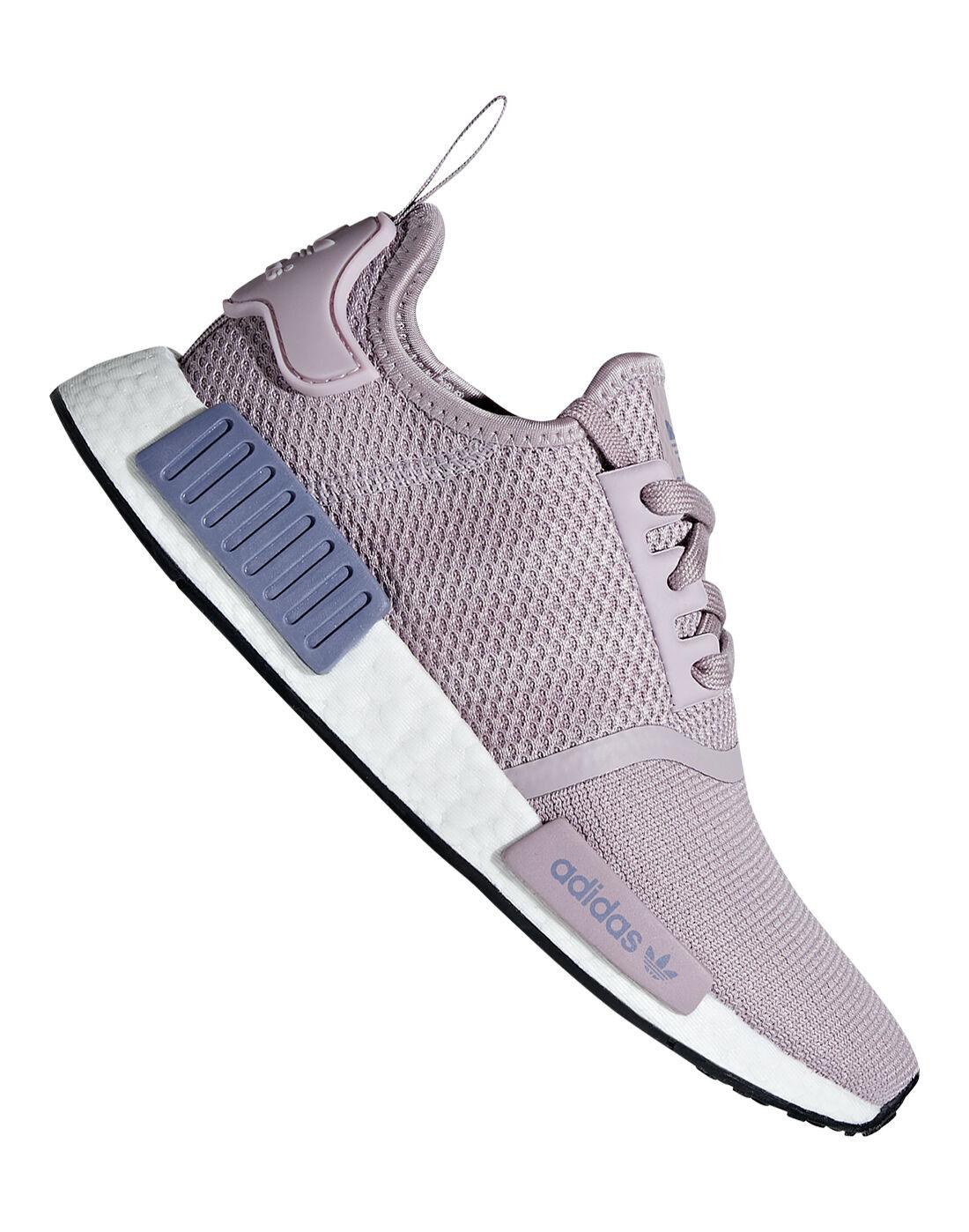 Women's Purple adidas Originals NMD