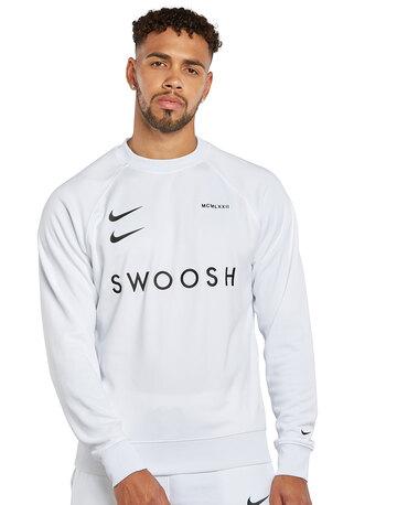Mens Swoosh Crew Neck Sweatshirt