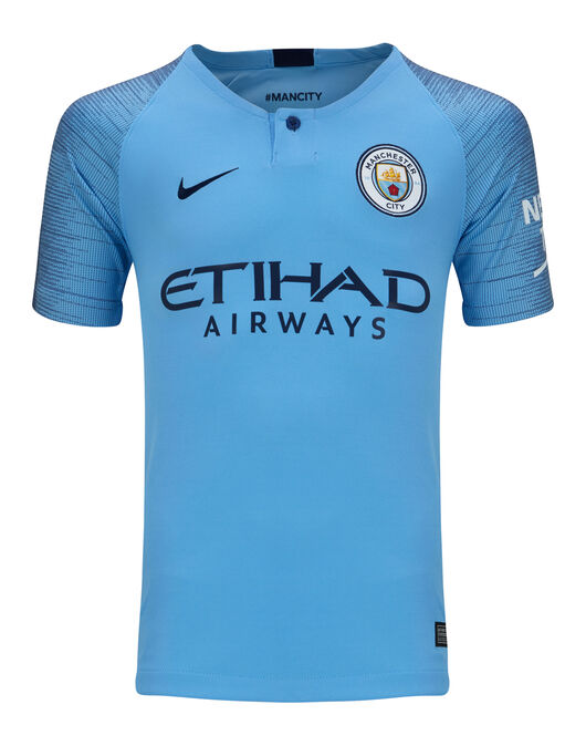 detailed look 49424 908b9 Nike Kids Man City Home 18/19 Jersey