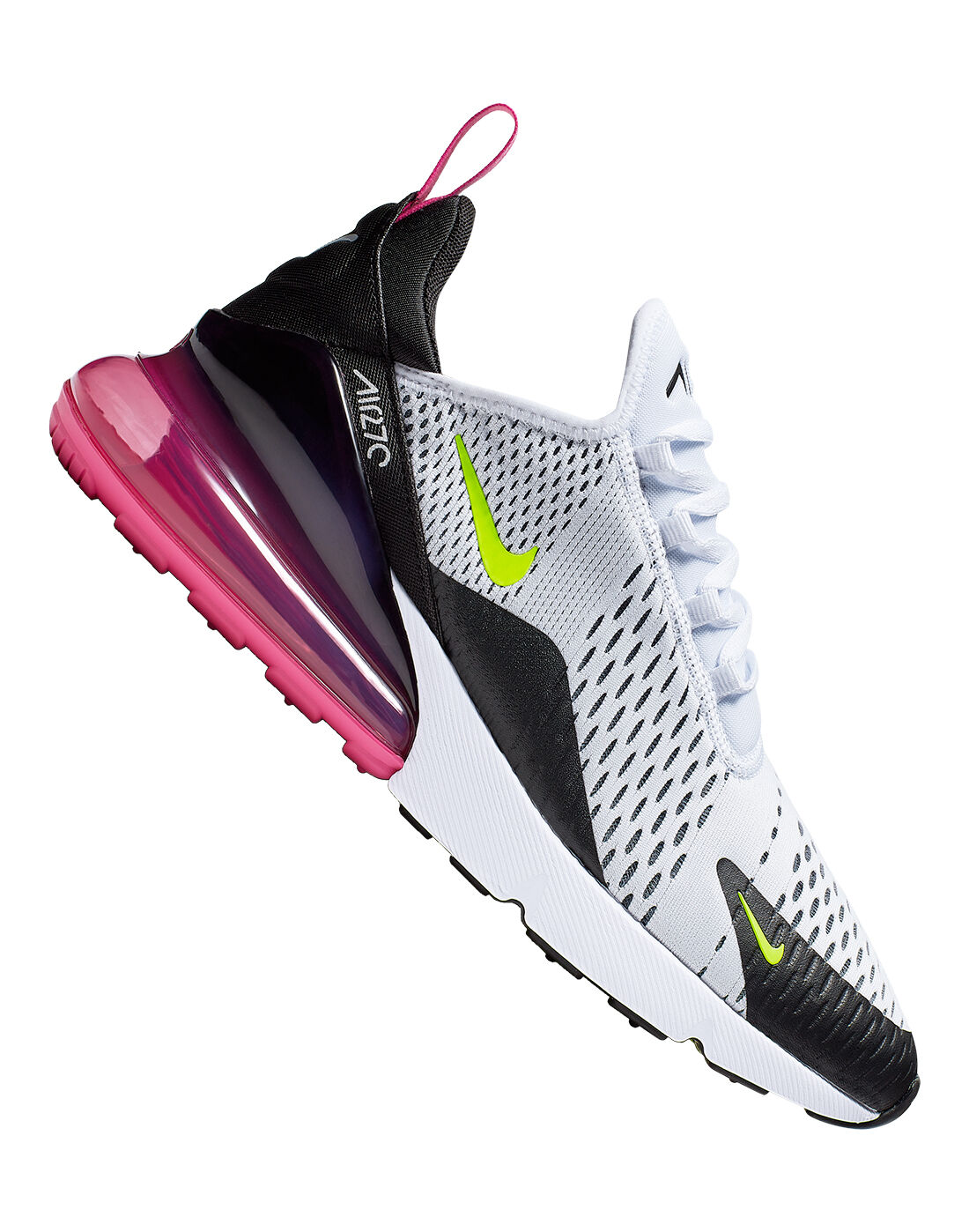 Men's White & Pink Nike Air Max 270 | Life Style Sports