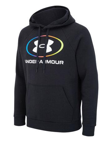 Mens Fleece Logo Hoodie
