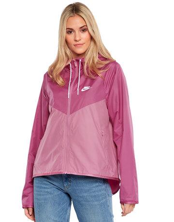 Womens Full Zip Wind Runner Jacket