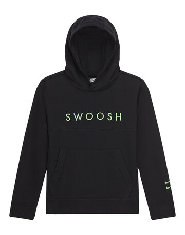 Older Boys Swoosh Pull over Hoodie