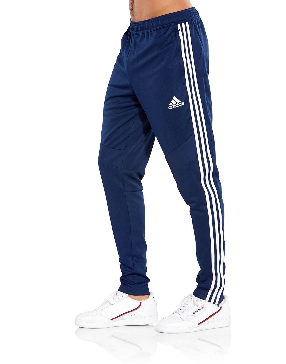 Men's Navy adidas Track Pants   Life
