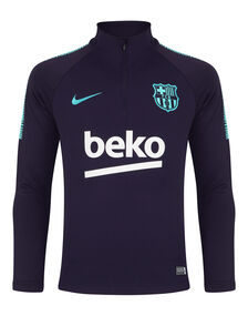 Kids Barcelona Training 1/4 Zip
