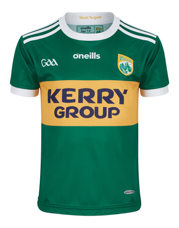 Kids Kerry GAA Home Jersey 2018
