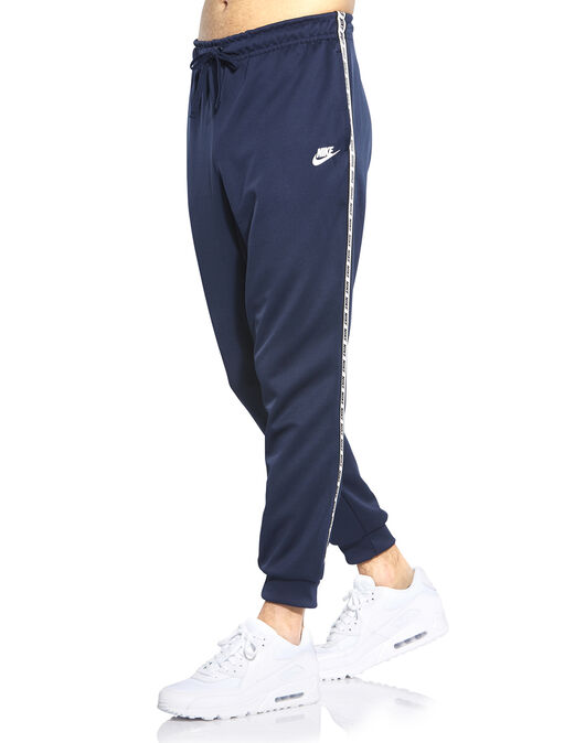 17419bb92 Men's Navy Nike Logo Tape Track Pants | Life Style Sports