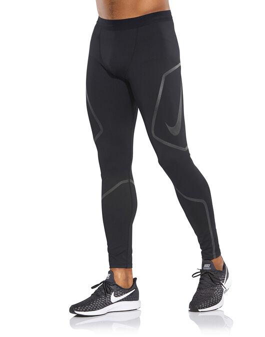 5a0a4b08c61 Men s Black Nike Running Tights