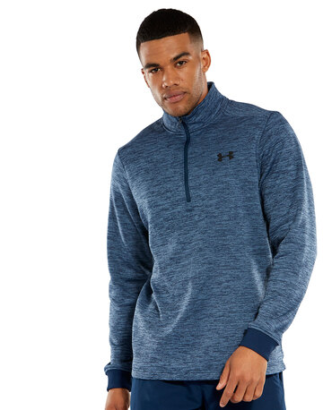 reputable site d6966 5a6e5 Mens Armour Fleece Half Zip Top ...