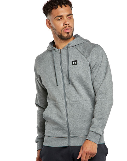 Mens Rival Fleece Full Zip Hoodie