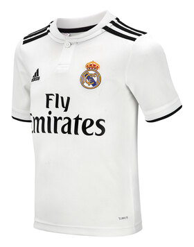 Kids Real Madrid 18/19 Home Jersey