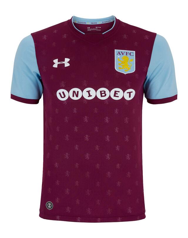 Adult Aston Villa Home 17/18 Jersey