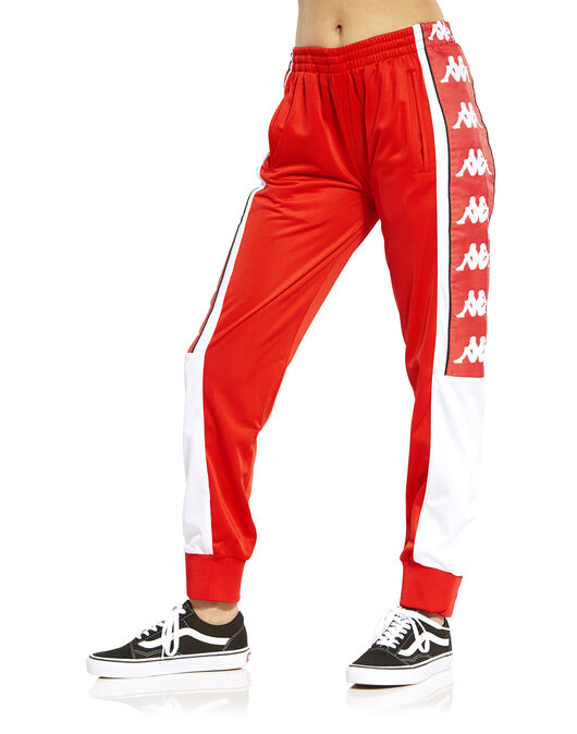37346d060a Women's Red Kappa Track Pants | Life Style Sports