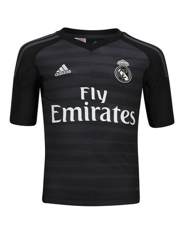 Kids Real Madrid 18 19 Home GK Jersey ... 47903100f