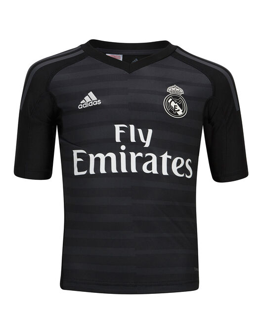 ccd8e4d63 adidas. Kids Real Madrid 18 19 Home GK Jersey