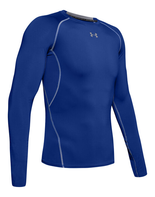 Mens Heatgear Armour Long Sleeve Top