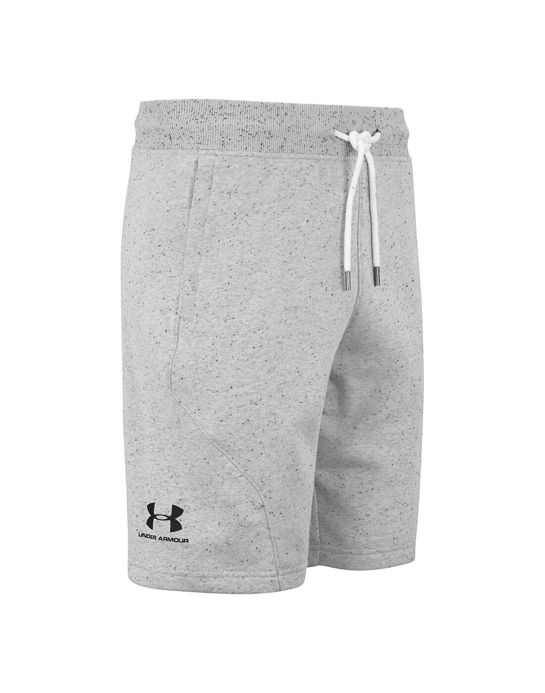 under armour mens fleece shorts