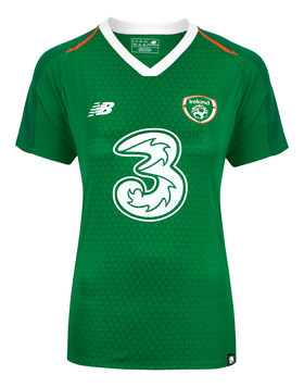 Womens Ireland Home Jersey