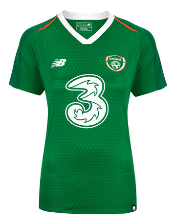 Womens Ireland Home Jersey ... 8c00a013d9