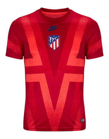Adult Aletico Madrid Pre Match Jersey