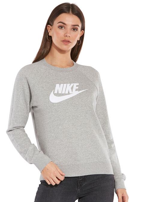 Womens Essential Fleece Sweatshirt