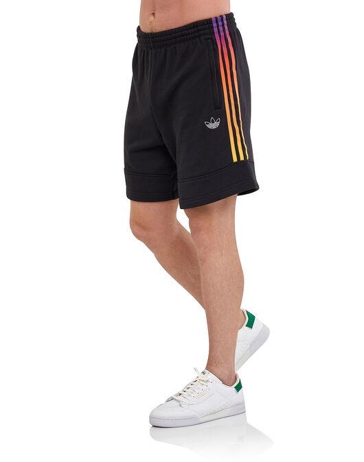 Mens 3 Stripe Contrast Shorts
